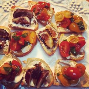 Tomato & Fig Toast