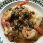 Spring Shrimp & Grits